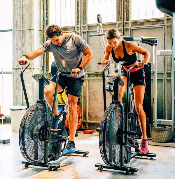 assault bike entrenamiento