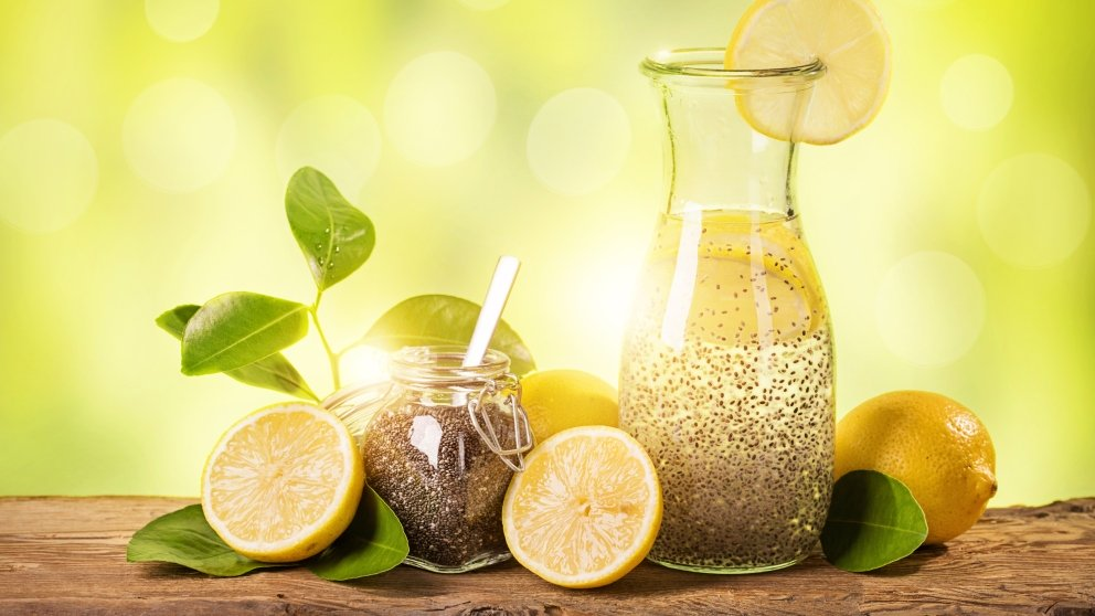 lemon healthy chia limon