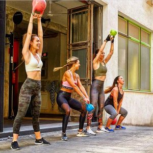 girls entrenamiento